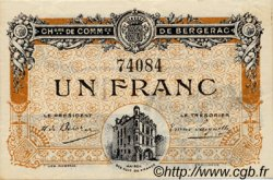 1 Franc FRANCE régionalisme et divers BERGERAC 1918 JP.024.33 SPL à NEUF