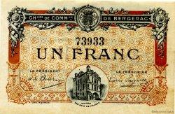 1 Franc FRANCE régionalisme et divers BERGERAC 1918 JP.024.33 TTB à SUP