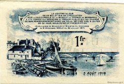 1 Franc FRANCE régionalisme et divers BERGERAC 1918 JP.024.34 TTB à SUP