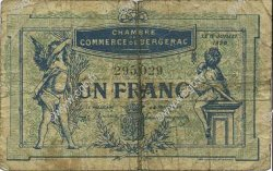 1 Franc FRANCE régionalisme et divers Bergerac 1920 JP.024.37 TB