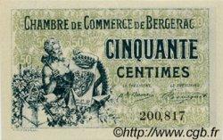 50 Centimes FRANCE régionalisme et divers Bergerac 1921 JP.024.38 SPL à NEUF