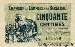 50 Centimes FRANCE régionalisme et divers Bergerac 1921 JP.024.38 TTB à SUP