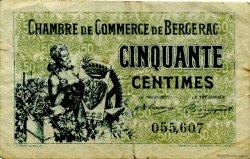 50 Centimes FRANCE régionalisme et divers Bergerac 1921 JP.024.38 TB