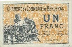 1 Franc FRANCE régionalisme et divers Bergerac 1921 JP.024.40 TB