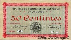 50 Centimes FRANCE régionalisme et divers BESANÇON 1915 JP.025.04 TTB à SUP