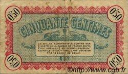 50 Centimes FRANCE régionalisme et divers BESANÇON 1915 JP.025.07 TB