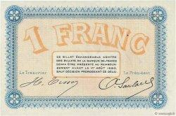 1 Franc FRANCE régionalisme et divers BESANÇON 1915 JP.025.08 TTB à SUP