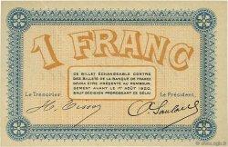1 Franc FRANCE régionalisme et divers Besançon 1915 JP.025.18 SPL à NEUF
