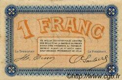 1 Franc FRANCE régionalisme et divers Besançon 1915 JP.025.18 TTB à SUP