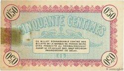 50 Centimes FRANCE régionalisme et divers Besançon 1918 JP.025.19 TTB à SUP