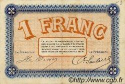 1 Franc FRANCE régionalisme et divers Besançon 1918 JP.025.21 TTB à SUP