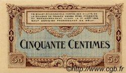 50 Centimes FRANCE régionalisme et divers Besançon 1921 JP.025.22 SPL à NEUF