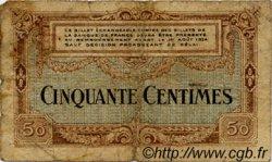 50 Centimes FRANCE régionalisme et divers BESANÇON 1921 JP.025.22 TB