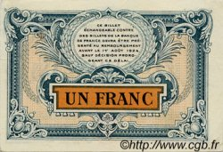 1 Franc FRANCE régionalisme et divers Besançon 1921 JP.025.24 TTB à SUP
