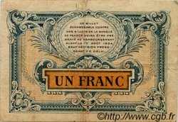 1 Franc FRANCE régionalisme et divers BESANÇON 1921 JP.025.24 TB