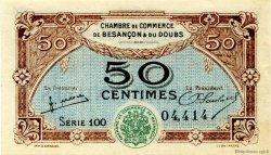 50 Centimes FRANCE régionalisme et divers Besançon 1922 JP.025.25 SPL à NEUF
