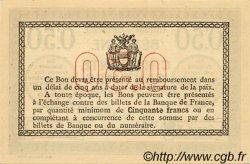 50 Centimes FRANCE régionalisme et divers Béthune 1915 JP.026.03 SPL à NEUF
