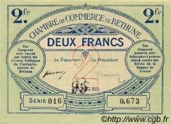 2 Francs FRANCE régionalisme et divers Béthune 1915 JP.026.10 TTB à SUP