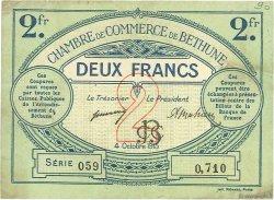 2 Francs FRANCE régionalisme et divers BÉTHUNE 1915 JP.026.10 TB