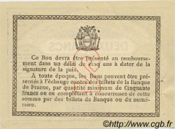2 Francs FRANCE régionalisme et divers Béthune 1915 JP.026.12 TTB à SUP