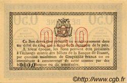 50 Centimes FRANCE régionalisme et divers BÉTHUNE 1916 JP.026.15 SPL à NEUF