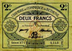 2 Francs FRANCE régionalisme et divers BÉTHUNE 1916 JP.026.19 TB