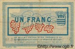 1 Franc FRANCE régionalisme et divers Béziers 1915 JP.027.17 TTB à SUP