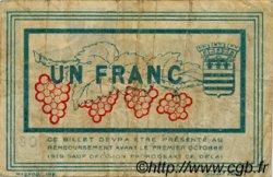 1 Franc FRANCE régionalisme et divers BÉZIERS 1915 JP.027.18 TB