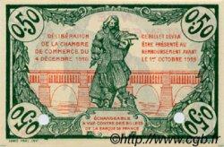 50 Centimes FRANCE régionalisme et divers BÉZIERS 1916 JP.027.21 SPL à NEUF