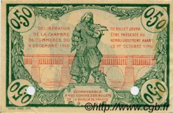 50 Centimes FRANCE régionalisme et divers BÉZIERS 1916 JP.027.21 TTB à SUP