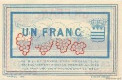 1 Franc FRANCE régionalisme et divers Béziers 1918 JP.027.23 SPL à NEUF
