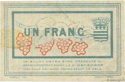 1 Franc FRANCE régionalisme et divers Béziers 1920 JP.027.28 TTB à SUP