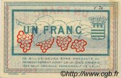 1 Franc FRANCE régionalisme et divers Béziers 1920 JP.027.30 TTB à SUP