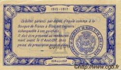 1 Franc FRANCE régionalisme et divers BLOIS 1915 JP.028.04 TTB à SUP