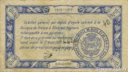 1 Franc FRANCE régionalisme et divers Blois 1915 JP.028.04 TB