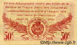 50 Centimes FRANCE régionalisme et divers BLOIS 1916 JP.028.05 TTB à SUP