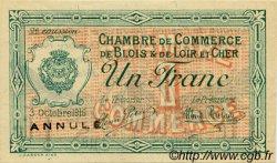 50 Centimes FRANCE régionalisme et divers BLOIS 1916 JP.028.06 TTB à SUP