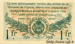 1 Franc FRANCE régionalisme et divers BLOIS 1916 JP.028.07 TTB à SUP