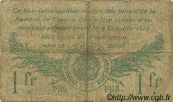 1 Franc FRANCE régionalisme et divers BLOIS 1916 JP.028.07 TB