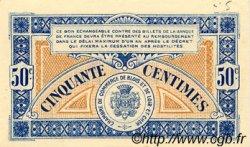 50 Centimes FRANCE régionalisme et divers BLOIS 1918 JP.028.09 SPL à NEUF