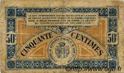 50 Centimes FRANCE régionalisme et divers Blois 1918 JP.028.09 TB