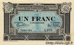 1 Franc FRANCE régionalisme et divers Blois 1918 JP.028.11 SPL à NEUF