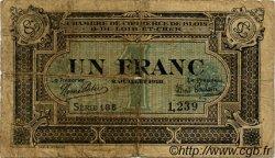 1 Franc FRANCE régionalisme et divers BLOIS 1918 JP.028.11 TB