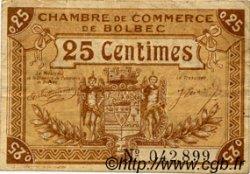 25 Centimes FRANCE régionalisme et divers BOLBEC 1918 JP.029.01 TB