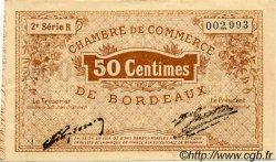 50 Centimes FRANCE régionalisme et divers BORDEAUX 1914 JP.030.04 TTB à SUP