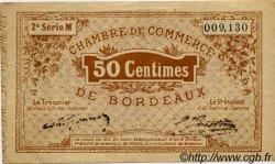 50 Centimes FRANCE régionalisme et divers BORDEAUX 1914 JP.030.04 TB