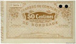 50 Centimes FRANCE régionalisme et divers BORDEAUX 1914 JP.030.05 SPL à NEUF