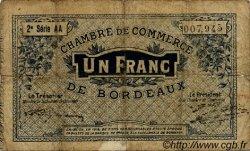 1 Franc FRANCE régionalisme et divers Bordeaux 1914 JP.030.08 TB