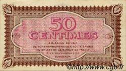 50 Centimes FRANCE régionalisme et divers Bordeaux 1917 JP.030.11 TTB à SUP