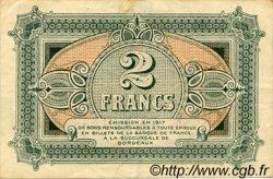 2 Francs FRANCE régionalisme et divers BORDEAUX 1917 JP.030.17 TTB à SUP